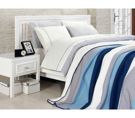 "Cotton Bedding & Blanket ""Royal"""