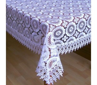 Guipure tablecloth
