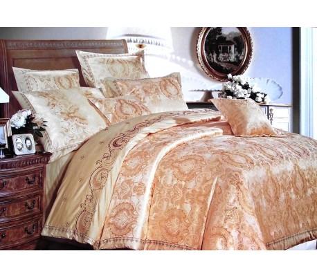 Luxury sateen - jacquard bedding 160 x 200cm