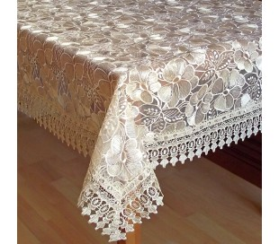"Square tablecloth ""Flowers""  150 x 150 cm"
