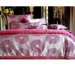 Luxury sateen - jacquard bedding 160 x 200cm