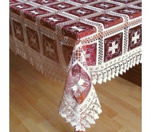 "Square tablecloth ""Versailles""  150 x 150 cm"