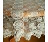 Круглая гипюровая скатерть 150 см