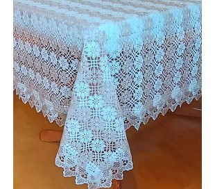 Guipure tablecloth 150 x 220 cm