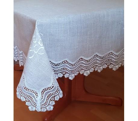 "Linen tablecloth ""Lograto"" 150 х 260 cm"