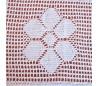 """Cotton tablecloth """"Laccio"""" 120 cm"""