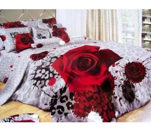 Cатиновое постельное белье 200x220см